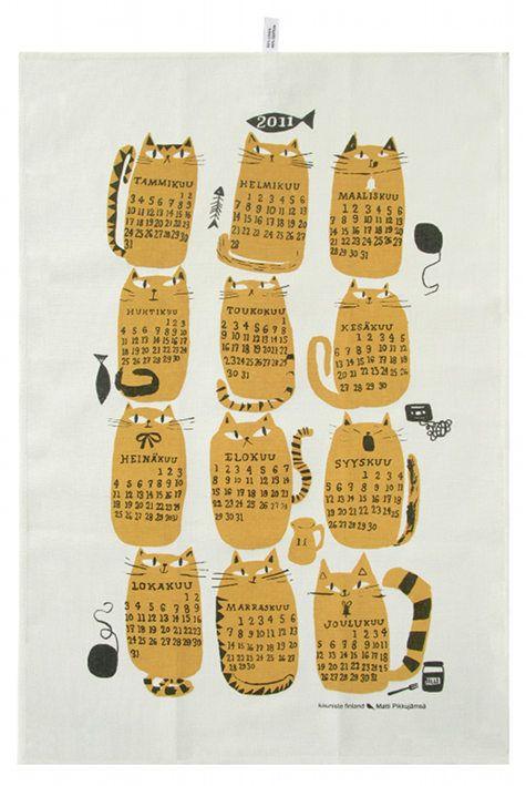 Kitchen towel by Finnish Kauniste.