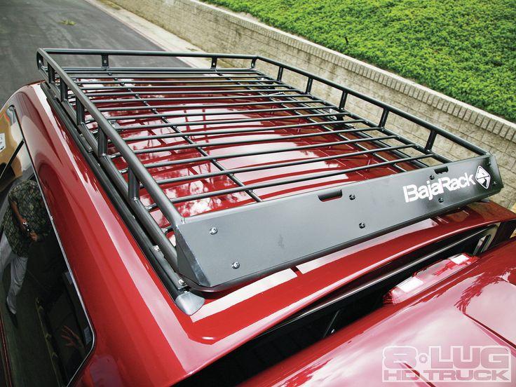 Truck Canopy Racks | 1202 8l 01%2bbajarack Roof Rack Installation%2bbajarack Installed  | Truck Stuff | Pinterest | Truck Canopy, Roof Rack And Truck ...