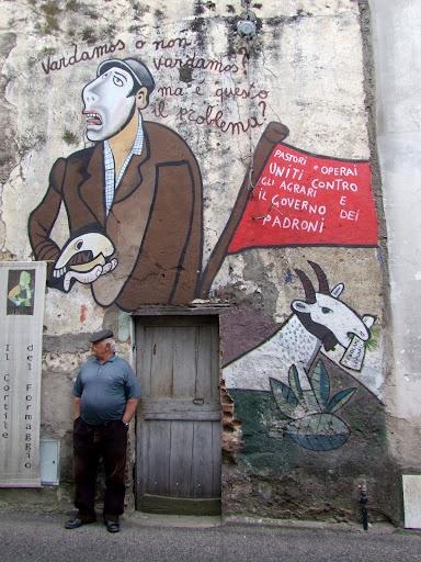 Orgosolo, Sardinia, #mural, #street art