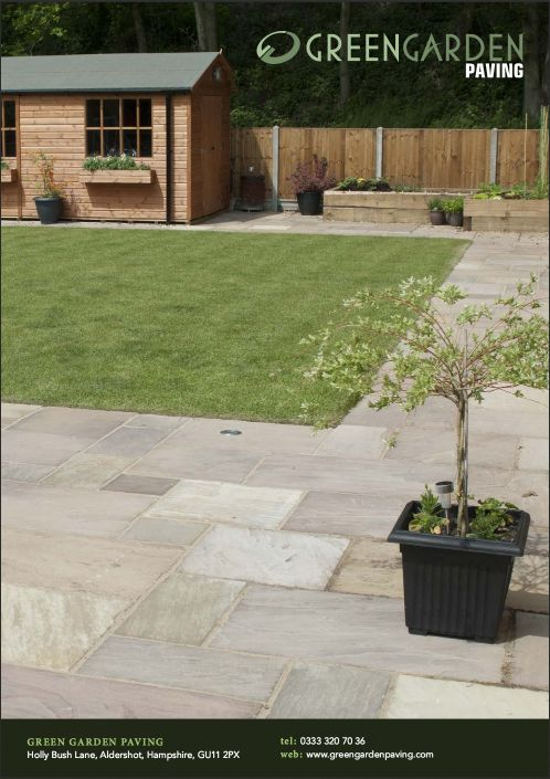 View Or The Green Garden Paving Brochure Online