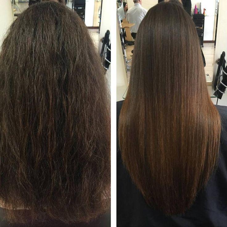 cool Кератиновое выпрямление волос - Последствия, отзывы, фото