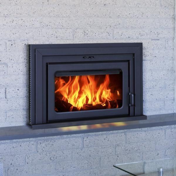 supreme fusion 24 wood burning fireplace insert products wood rh pinterest com