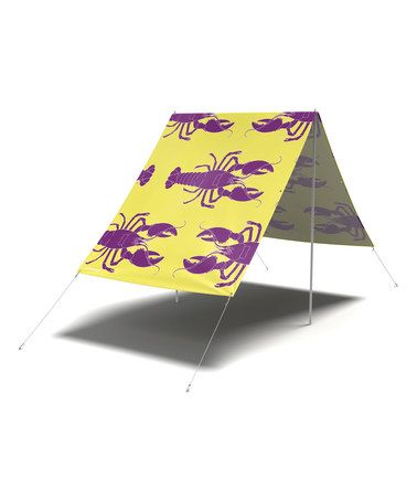 Look what I found on #zulily! Yellow Rock Lobster Sun-Shade Tent #zulilyfinds