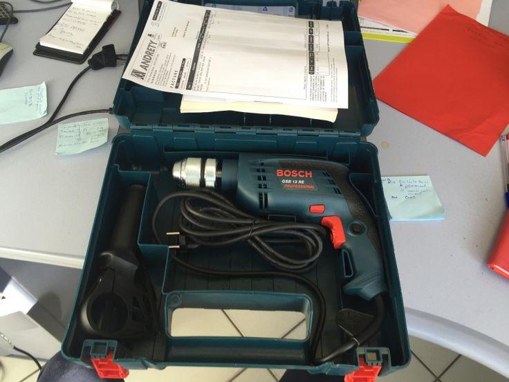 perceuse et perforatrice (choc) Bosch pro 1300waths avec forets tous diamètres; Location perceuse/perfo (choc) Bosch professionnelle Gap (05000)