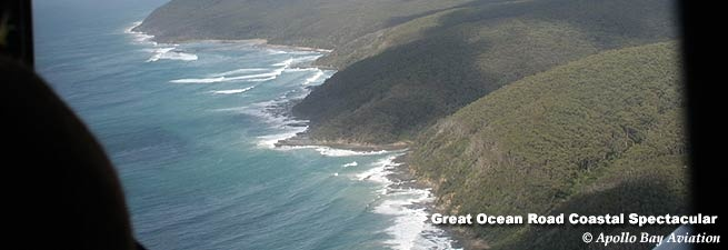 Take a flight from Apollo Bay to the 12 Apostles along the coastline. Fantastic