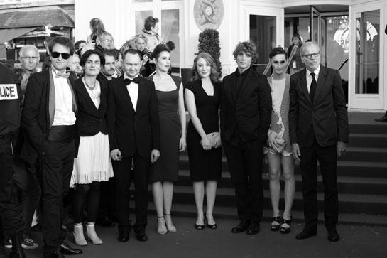 Le Jury Courts Metrages avec Anne Azoulay, Dominique Rouchon, Sarah Stern, Niels Schneider, Yelle et Pascal Greggory, @ 26ème Festival du film de Cabourg
