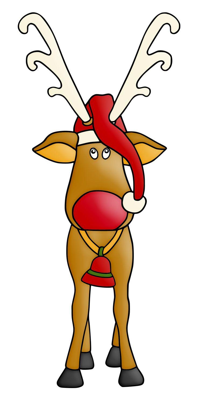 foto de CHRISTMAS REINDEER CLIP ART Kids art projects Christmas
