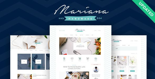 Mariana | Handmade Blog & Shop