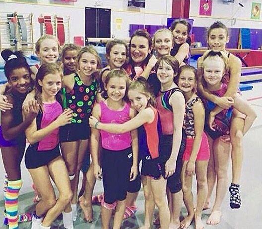 Annie,Liv and Katie Gymnastics team