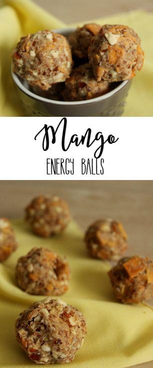 Mango Energy Balls -- Lean, Clean, & Brie