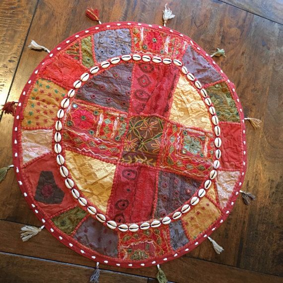 Ethnic Handmade Embroidery Mirror work Colorful by Sajavat on Etsy
