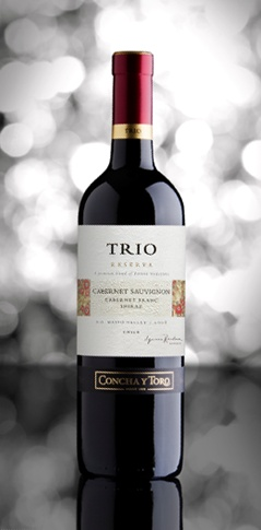 Trio is a premium blend of three different grapes. It represents the complexity and elegance of great blending, at a more affordable price.