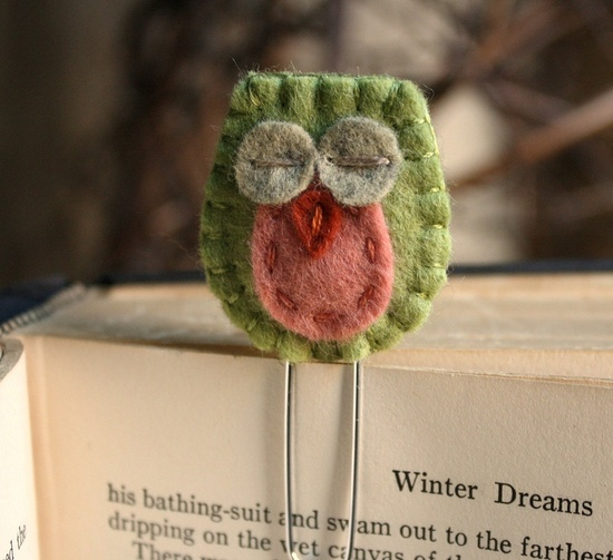 Love the owl bookmark