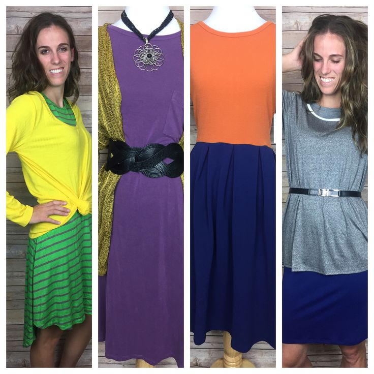 NFC North Division Inspired LuLaRoe Outfits. Check them out in our VIP.   https://www.facebook.com/groups/LuLaRoeKatieORourke/