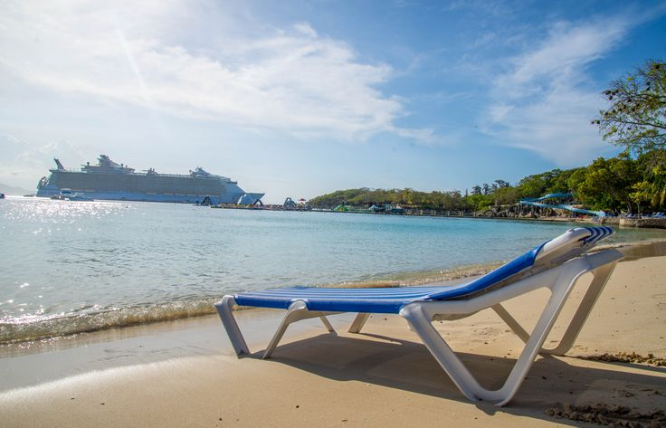 Take a seat and relax on the beautiful beaches of Labadee, Haiti