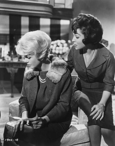 Doris Day & Natasha Parry Midnight Lace 1960