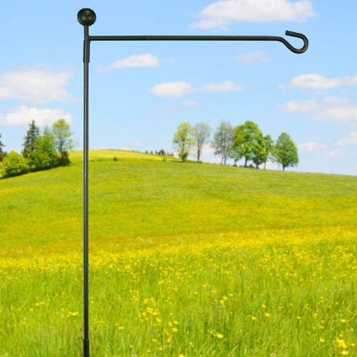 garden flag pole stand menards home depot