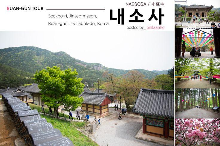 전북 부안 여행 전나무숲, 산과 어우러지는 사찰, 봄이 함께 했던 내소사