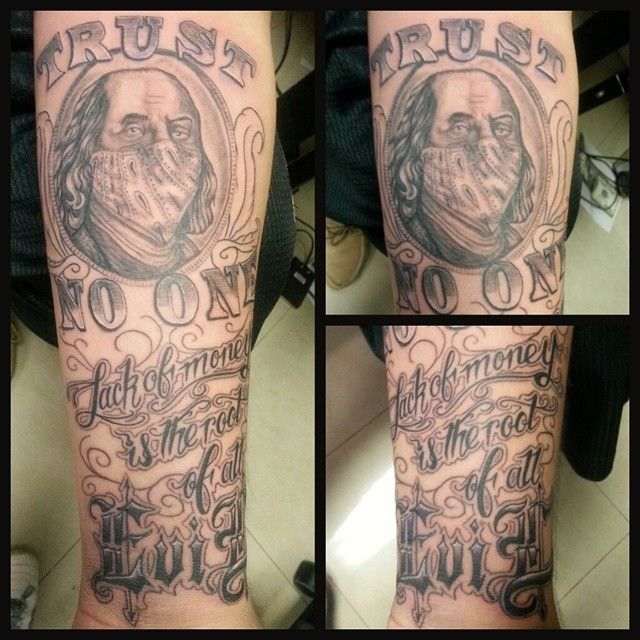 Tattoo Quotes Money: 17 Best Images About Money Tattoos On Pinterest