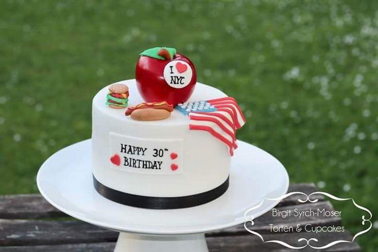 New York Birthday Cake - Birgit Syrch-Moser - Google+