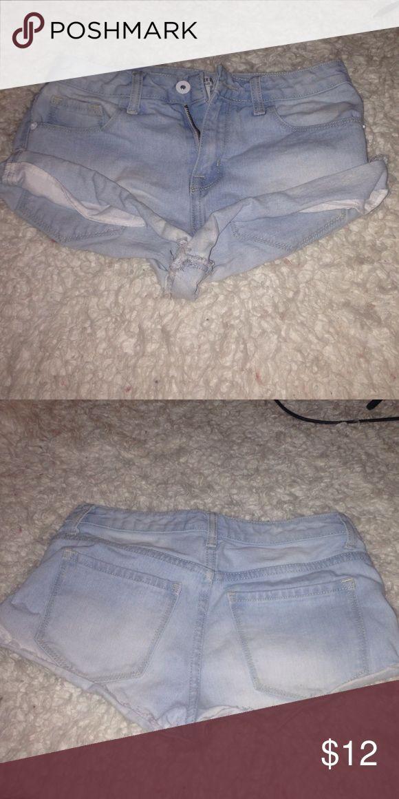 Mini shorts Light wash shorts Forever 21 Shorts Skorts