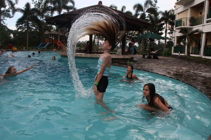 Swimming pool - a trip to Bogor