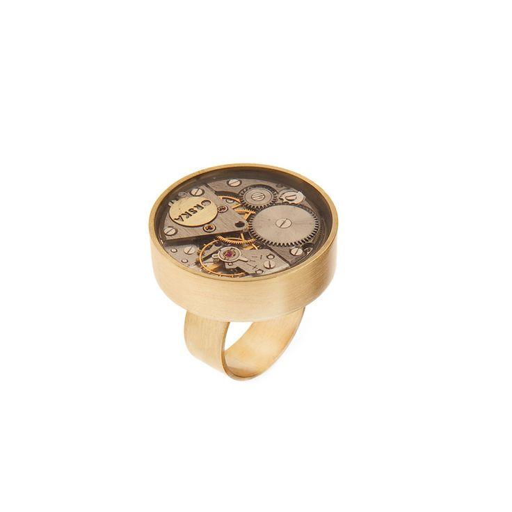 Pierścionek | Vintage VP48 | ORSKA - ręcznie wykonana, unikatowa biżuteria…