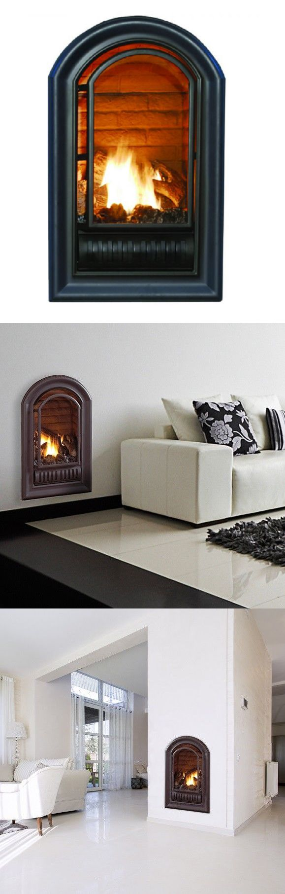 Inserts fireplace accessories new york by bowden s fireside - Fireplace Mantels And Surrounds 79650 Series Natural Gas Ventless Fireplace Insert 20 000 Btu Millivolt Control