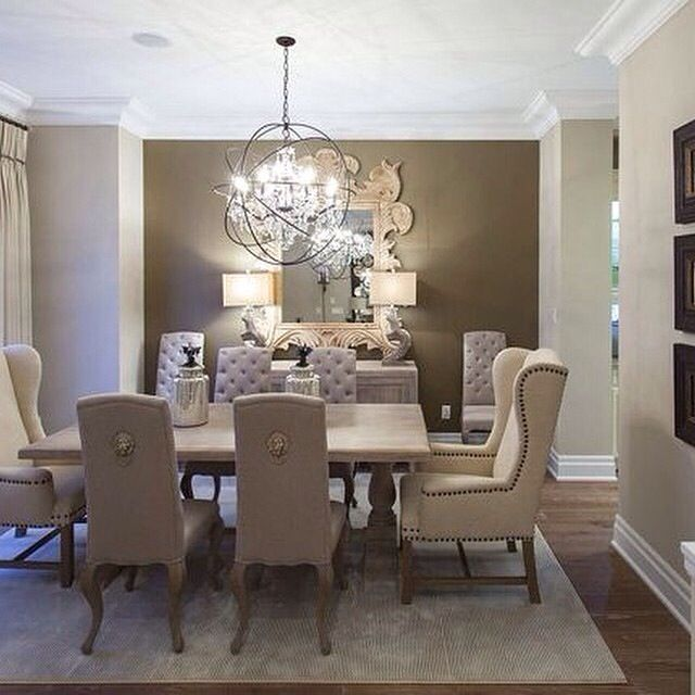 Love this dining room Home