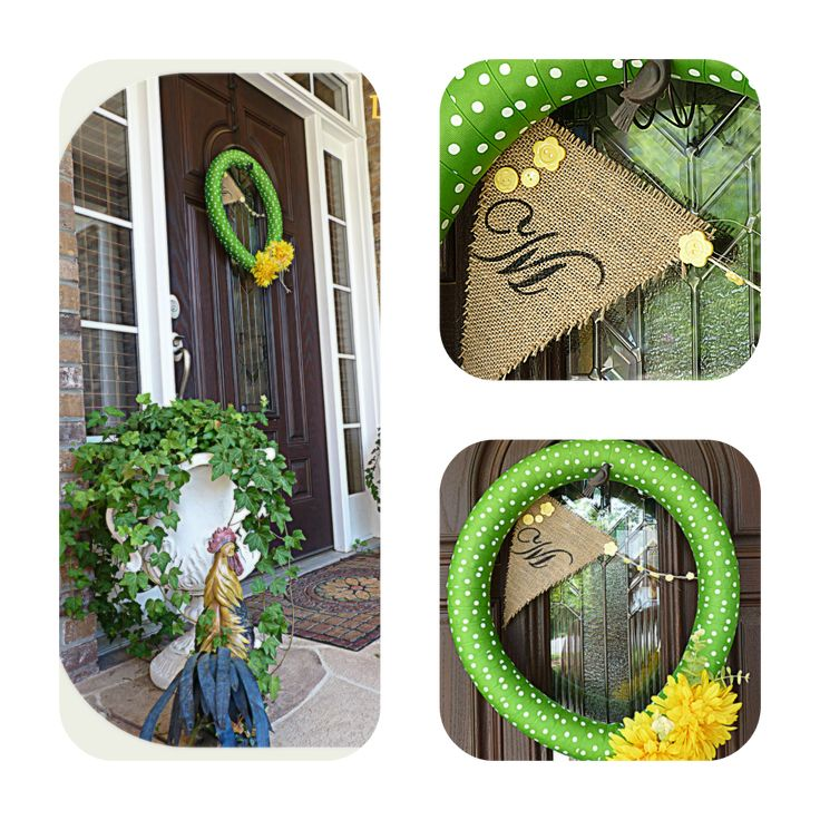 Pool noodle wreaths  (40+ ways to use a pool noodle)