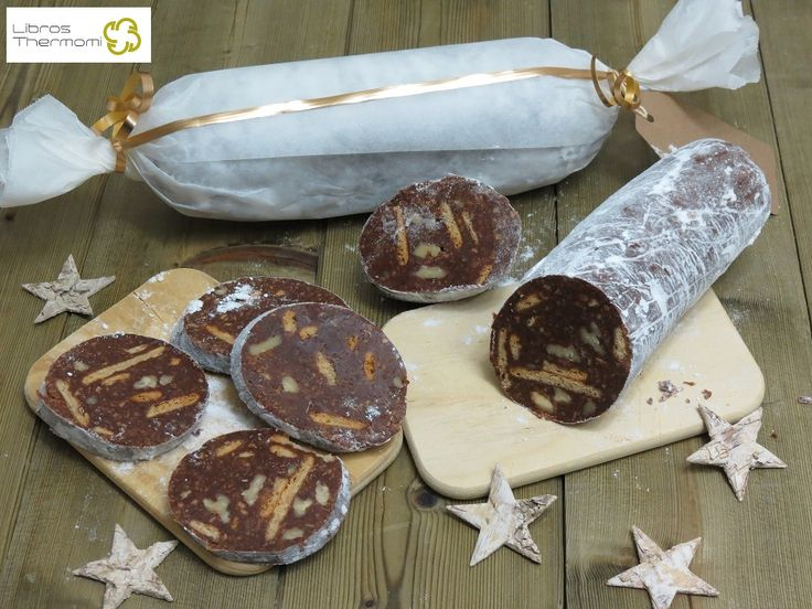 Salchichón de Chocolate con Thermomix