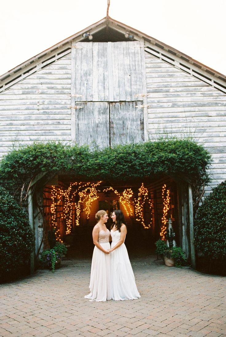 Elegant Fearrington Village Barn Wedding