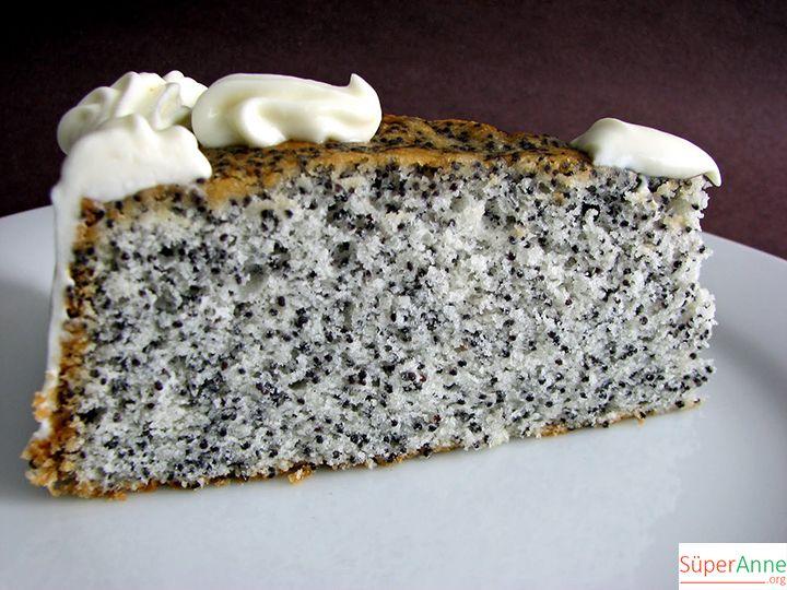 Haşhaşlı Pasta Tarifi   Süper Anneden Kolay Yemek Tarifleri