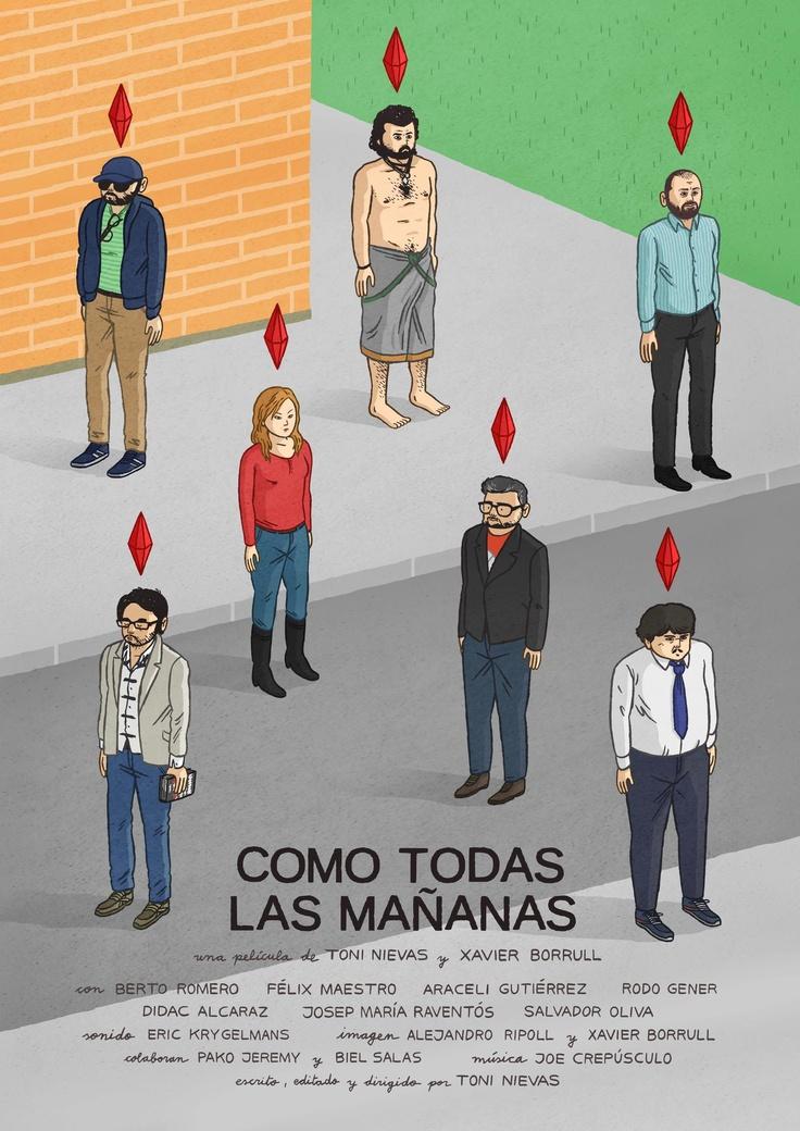 #CRISIS #DOCUMENTAL #HUMOR #SOCIAL - El Cartel de COMO TODAS LAS MAÑANAS by NÉSTOR F. (http://www.nestorf.com/). Un falso documental de TONI NIEVAS sobre gente en crisis. Una comedia de Toni Nievas, Félix Maestro, Didac Alcaraz, Rodo Gener, Salvador Oliva, Araceli Gutiérrez y Berto Romero.  como todas las mañanas crisis +INFO: www.facebook.com/toni.nievas y https://jp.twitter.com/toninievas  CAMPAÑA crowdfunding verkami www.verkami.com/projects/3625