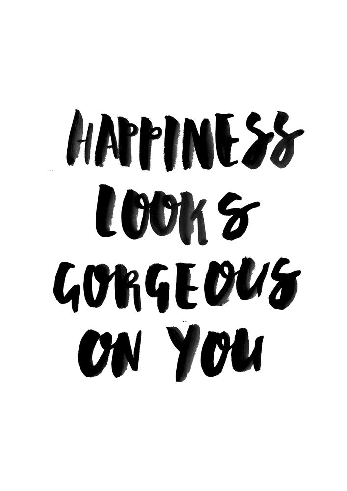 Image of Happiness Looks Gorgeous On You