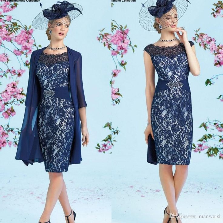 Ronald Joyce 2017 Full Lace Mother Of The Bride Dresses With Jacket Beads Sheath Wedding Guest Dress Knee Length Mothers Formal Gowns Mother Of The Bride Dress Patterns Mother Of The Bride Dresses Calgary From Manweisi, $134.13  Dhgate.Com