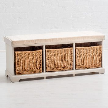 You'll love the Country Farmhouse Storage Hallway Bench at Wayfair.co.uk - Great Deals on all Furniture  products with Free Shipping on most stuff, even the big stuff.