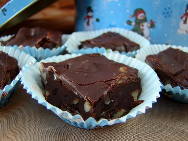 "Hershey's Old Fashioned Rich Cocoa Fudge: ""This is a crumbly, sugary old fashion fudge....from the back of the Hershey's Cocoa can."" -Marg (CaymanDesigns)"