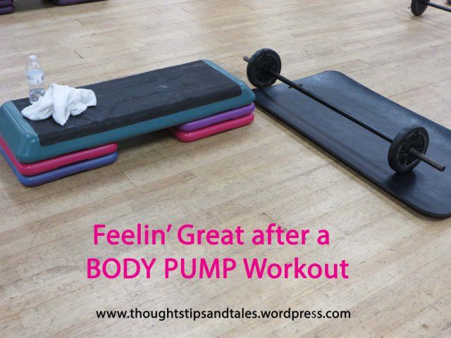 Feelin' Great after a BODY PUMP Workout