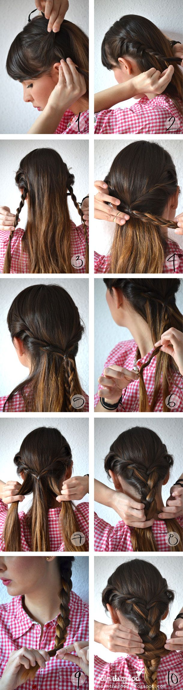 best coiffure images on pinterest easy hairstyle gorgeous