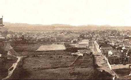 1900 -; Visão do bairro da Barra Funda.