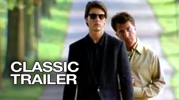 Rain Man Official Trailer #1 - Tom Cruise, Dustin Hoffman Movie (1988) HD  This was a movie I'd always heard of but had no clue what it was about but once I watched it instantly became one of my favorites and just made me want to watch all of Dustin Hoffman's movies
