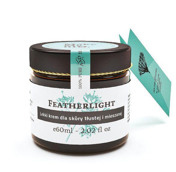 Featherlight Lekki krem dla skóry tłustej i mieszanej - Nieprzyzwoicie naturalny sklep dla kobiet lubiących siebie