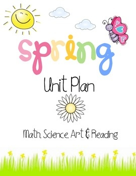 This is a unit plan with various activities designed with the topic of spring. Activities include:BingoJelly Bean GraphingPatternsScaveng...