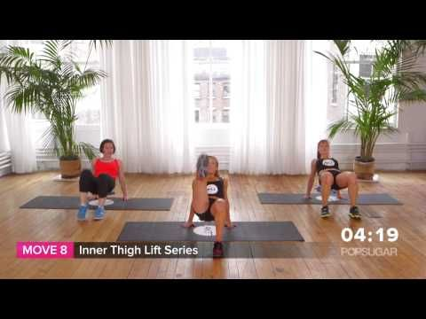 10 Minute Booty Burning Workout From Sarah Jessica Parker's Trainer Anna...