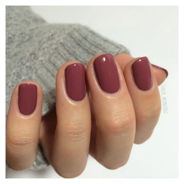 10 Winter Nail Colors For Your Bridesmaids ❤ liked on Polyvore featuring beauty products, nail care, nail polish and nails