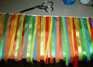 The Fountains: High Chair Ribbon Banner How to