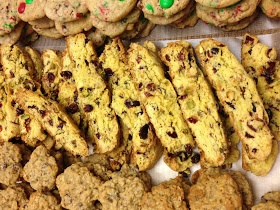 Cranberry pistachio cornmeal biscotti | Made these | Pinterest
