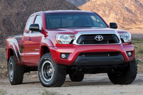 """Toyota has been very successful when it comes to pickup truck segment in getting U.S. News & World Report """"2013 Best Cars for the Money"""" award. Tacoma model won in the category of best compact pickup for the second time in a row. Redesigned with adv"""