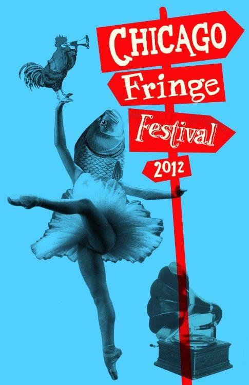 Chicago Fringe Festival Poster - Hadar Geva - Illustration & Design